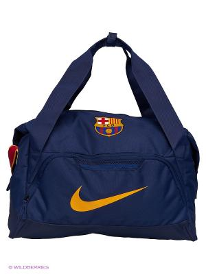 Сумка ALGNCE BARCA NK SHLD DUFF Nike. Цвет: синий, красный, желтый