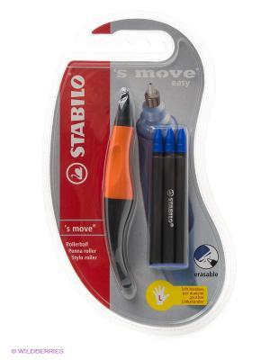 Ручка SMOVE EASY для левшей Stabilo. Цвет: синий