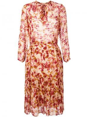 Платье Hacienda Bellerose. Цвет: красный