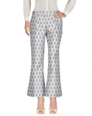 Повседневные брюки GIAMBA. Цвет: небесно-голубой