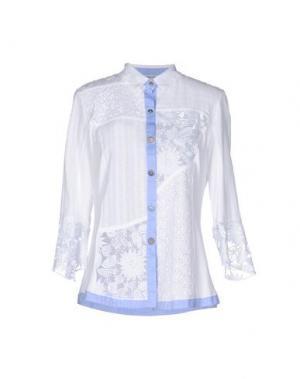 Pубашка ANGELA MELE MILANO. Цвет: белый