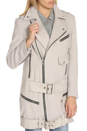 Пальто Dondup. Цвет: серый