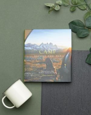 Books Книга Fifty Places To Camp Before You Die. Цвет: мульти