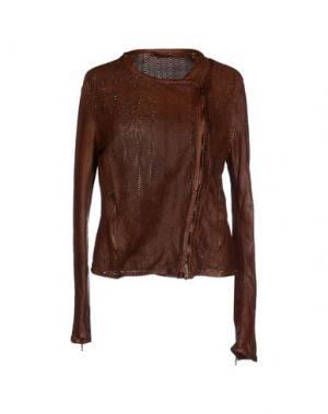 Куртка SALVATORE SANTORO. Цвет: коричневый