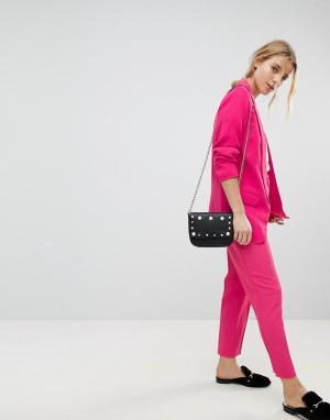 Pimkie Строгие брюки. Цвет: розовый