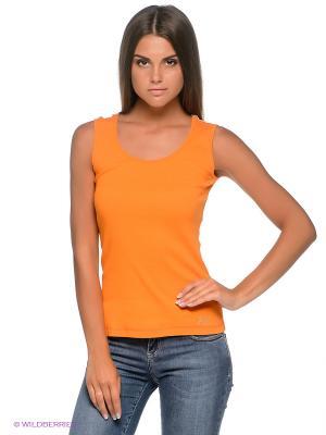Топ F5. Цвет: оранжевый