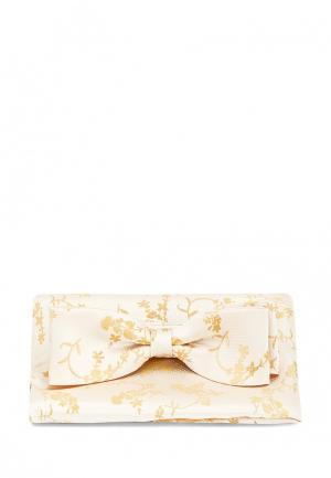 Бабочка и платок Carpenter. Цвет: золотой