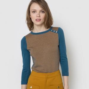 Пуловер жаккардовый MADEMOISELLE R. Цвет: жакард