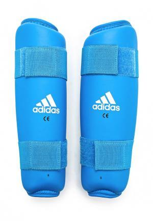 Щитки adidas Combat. Цвет: синий