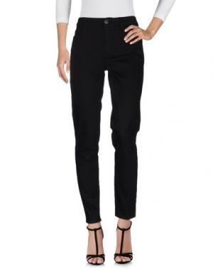 Джинсовые брюки SEVENTY SERGIO TEGON. Цвет: черный