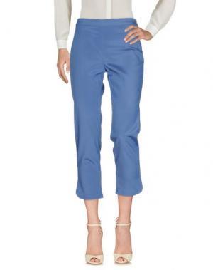 Повседневные брюки MAX & CO.. Цвет: синий