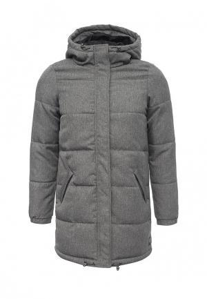 Куртка утепленная Vero Moda. Цвет: серый