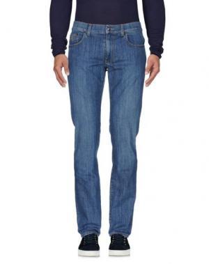 Джинсовые брюки REPORTER. Цвет: синий