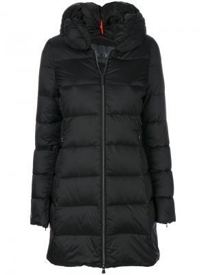 Дутое длинное пальто Rrd. Цвет: чёрный