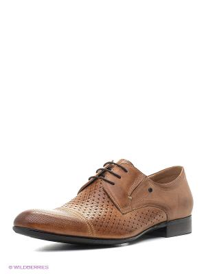 Туфли Premier. Цвет: светло-коричневый