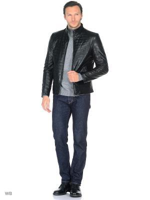 Куртка Donatto. Цвет: черный