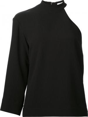 Cut-out shoulder blouse Nomia. Цвет: чёрный