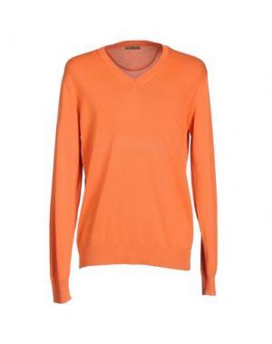 Свитер FRADI. Цвет: оранжевый