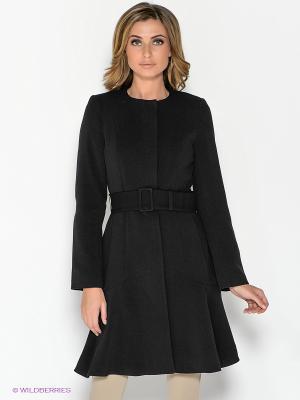 Пальто ZARINA. Цвет: черный