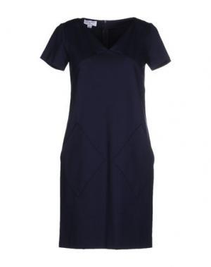 Короткое платье PIU' &. Цвет: темно-синий