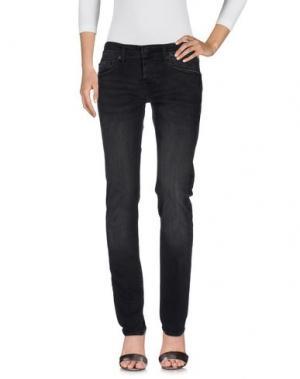 Джинсовые брюки TRUE RELIGION. Цвет: стальной серый