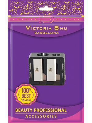 Точилка для карандашей Victoria Shu. Цвет: темно-фиолетовый