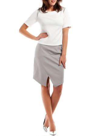 Блуза BeWear. Цвет: белый