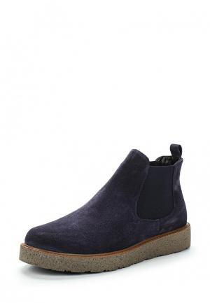 Ботинки Nikkn. Цвет: синий