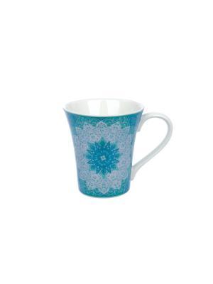 Кружка Джайпур голубой Elff Ceramics. Цвет: голубой, белый