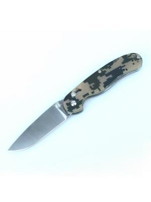 Нож Ganzo G727M. Цвет: зеленый, светло-зеленый, черный
