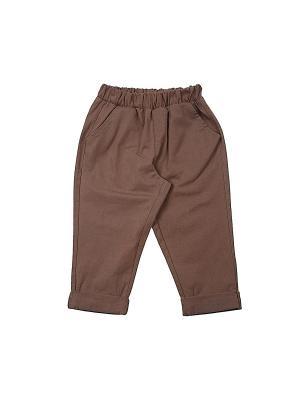 Брюки Mini Maxi. Цвет: светло-коричневый