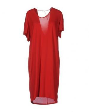 Платье до колена SEVENTY by SERGIO TEGON. Цвет: красный