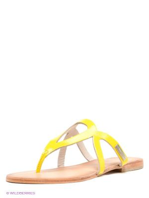 Пантолеты Les Tropeziennes. Цвет: желтый, коричневый