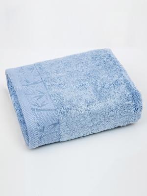 Полотенце Унисон. Цвет: голубой