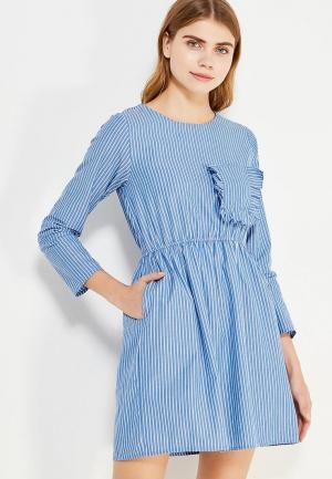 Платье Compania Fantastica. Цвет: голубой