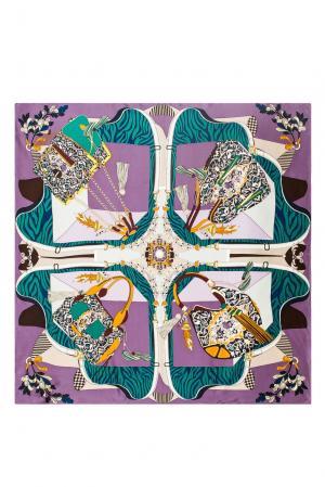 Шелковый платок 183385 Moltini. Цвет: разноцветный