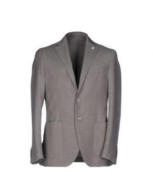 Пиджак LUIGI BIANCHI Mantova. Цвет: серый
