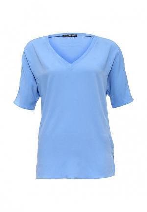 Блуза Liu Jo. Цвет: голубой