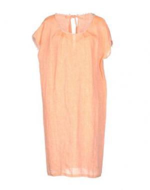 Платье до колена WALTER VOULAZ. Цвет: оранжевый