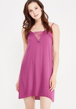 Сорочка ночная Relax Mode. Цвет: фиолетовый