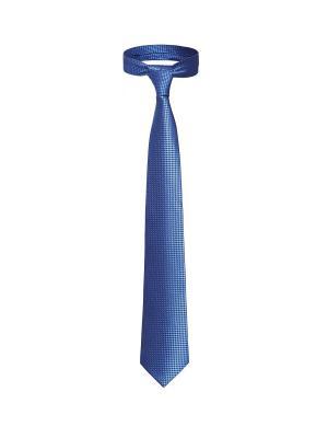 Классический галстук Прием в Берлине мелкий ромб Signature A.P.. Цвет: синий, черный