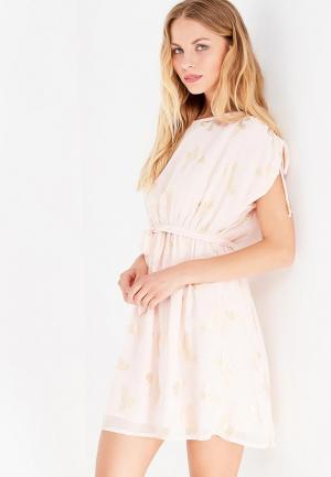 Платье Y by Yumi. Цвет: розовый