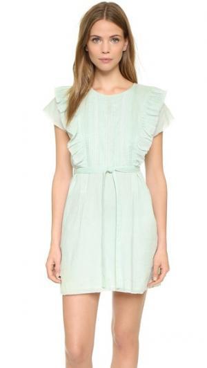 Платье Anouk St. Roche. Цвет: лазурный нил