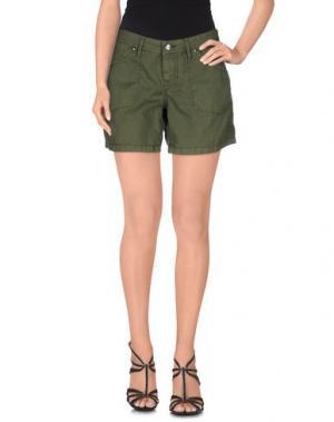Повседневные шорты ROŸ ROGER'S. Цвет: зеленый-милитари