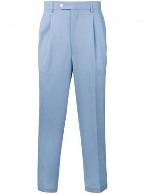 Укороченные брюки Lc23. Цвет: синий