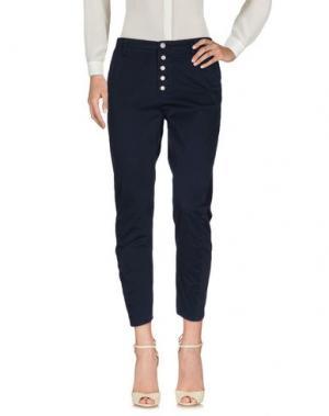 Повседневные брюки FIFTY FOUR. Цвет: темно-синий