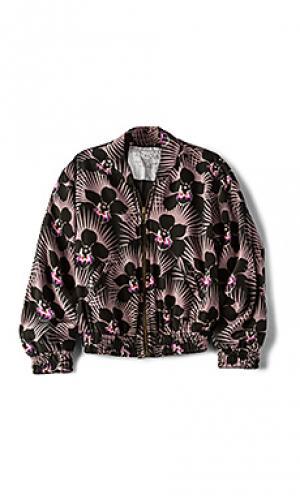Куртка бомбер ny Acacia Swimwear. Цвет: фиолетовый