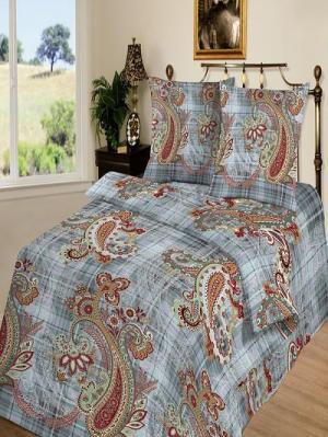 Комплект постельного белья тк.Бязь Рапсодия Шоколад. Цвет: коричневый, серый