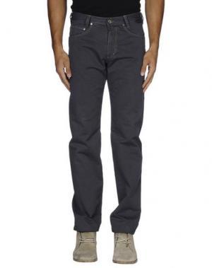 Повседневные брюки BETWOIN. Цвет: свинцово-серый