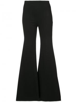 Широкие брюки Rosetta Getty. Цвет: чёрный